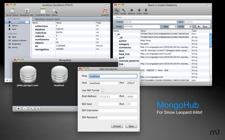 MongoDB GUI客户端工具大全