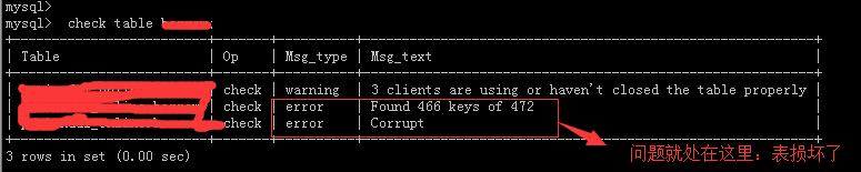 【原创】mysql表里明明有数据却查询不到的原因以及解决思路