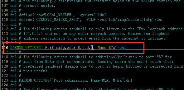【原创】LINUX搭建内网sendmail服务器详细图文教程